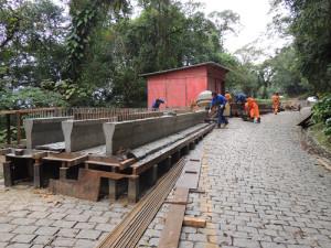 Começam obras para permitir passagem na Estrada da Graciosa