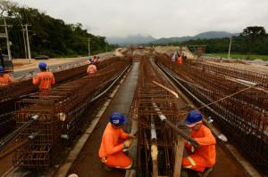 Viaduto de Morretes está com 60% dos serviços concluídos