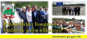 Inauguração de Viaduto