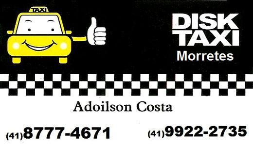 Disk Taxi Morretes